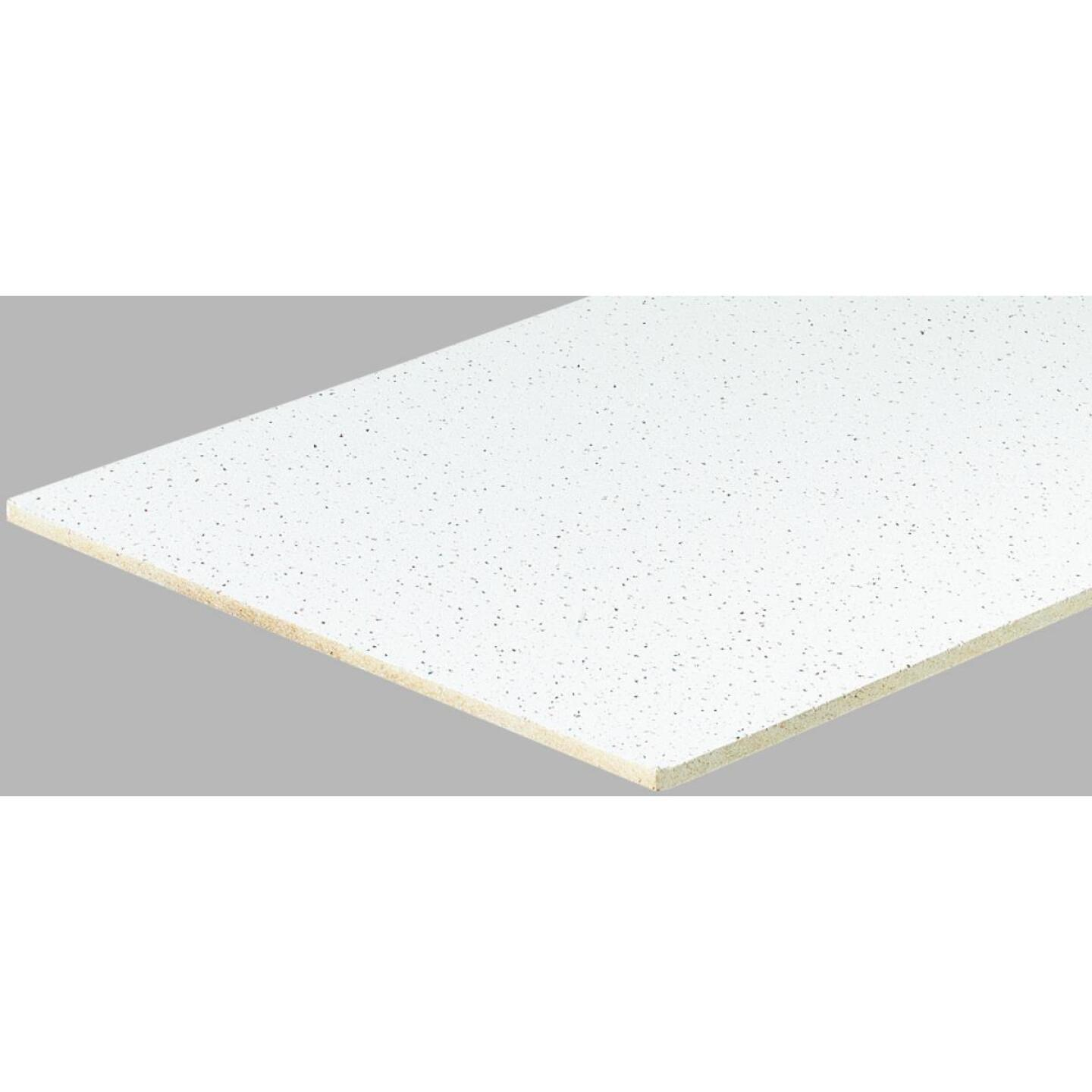 Radar Fissured 2 Ft. x 4 Ft. White Mineral Fiber Square Edge Suspended Ceiling Tile (16-Count) Image 1