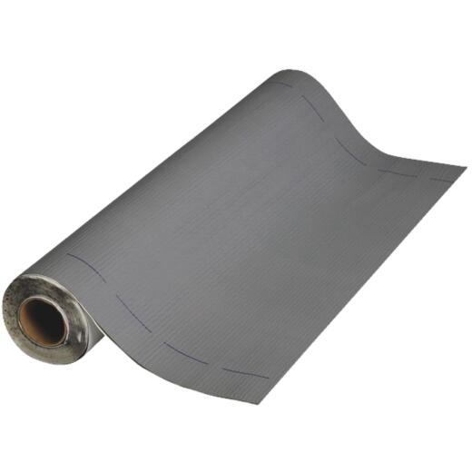 MFM Peel & Seal 36 In. X 33-1/2 Ft. Granite Gray Aluminum Roofing Membrane