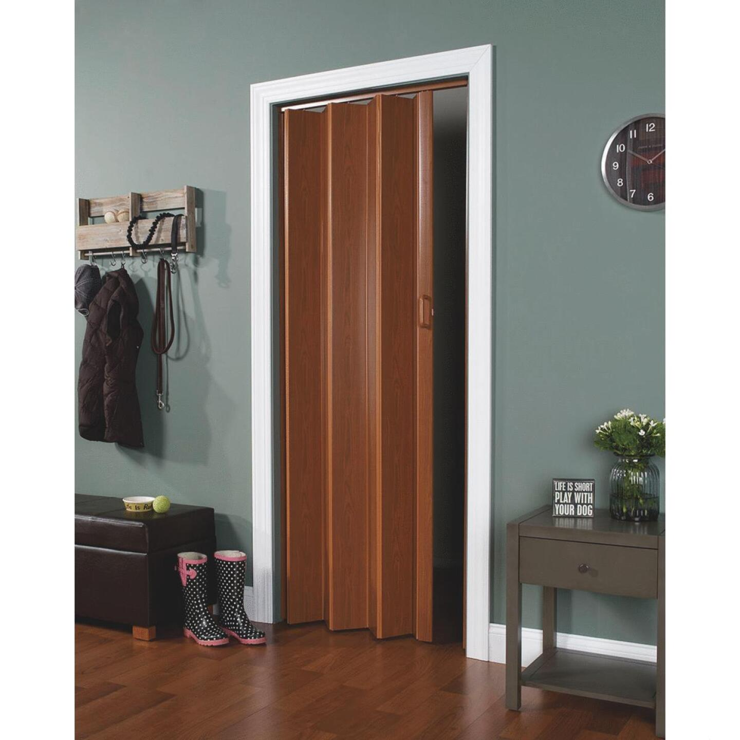 Spectrum Encore 24 In. to 36 In. W. x 80 In. H. Fruitwood Accordion Folding Door Image 1