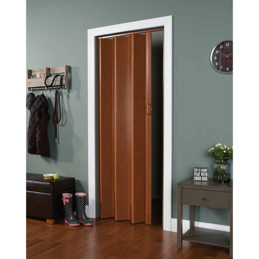 Spectrum Encore 24 In. to 36 In. W. x 80 In. H. Fruitwood Accordion Folding Door