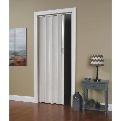 Spectrum Oakmont 36 In. W. x 80 In. H. White Accordion Folding Door