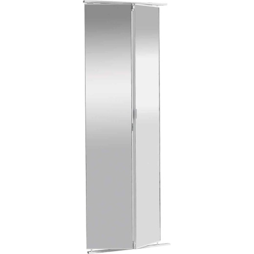 Colonial Elegance 30 In. W x 80-1/2 In. Frameless Mirrored Bifold Door