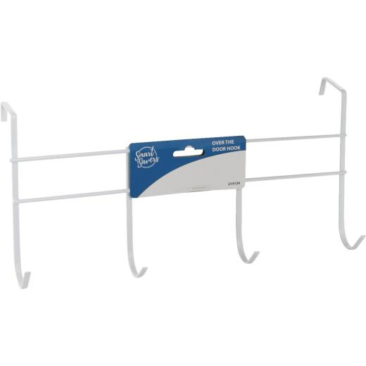 Smart Savers White Iron Over The Door Hook