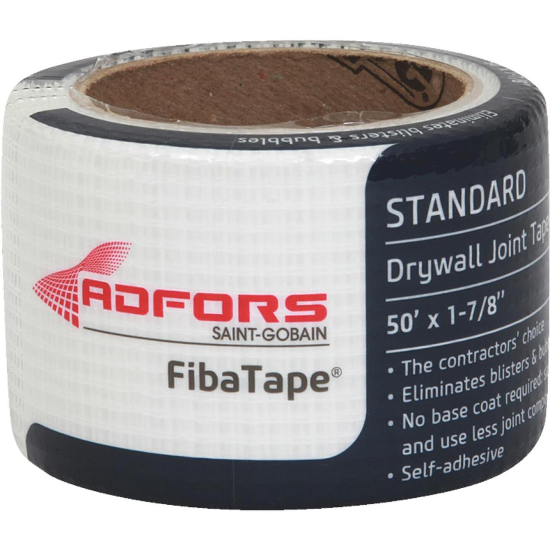 FibaTape 1-7/8 In. x 50 Ft. White Self-Adhesive Joint Drywall Tape Image 1