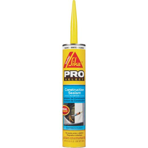 Sikaflex Sika 10.1 Oz. Pro Select Construction Polyurethane Sealant, White