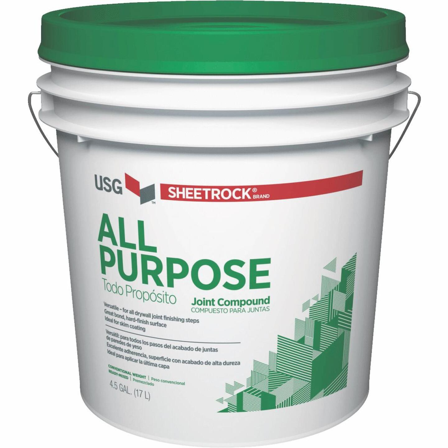 Sheetrock 4.5 Gal. Pre-Mixed All-Purpose Drywall Joint Compound Image 1