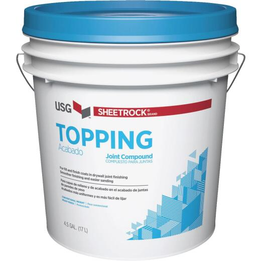 Sheetrock 4.5 Gal. Pre-Mixed Topping Drywall Joint Compound