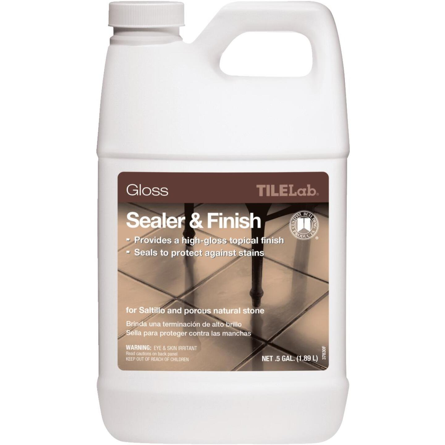 Custom Building Products TILELab 1/2 Gal. Gloss Tile Sealer & Finish Image 1