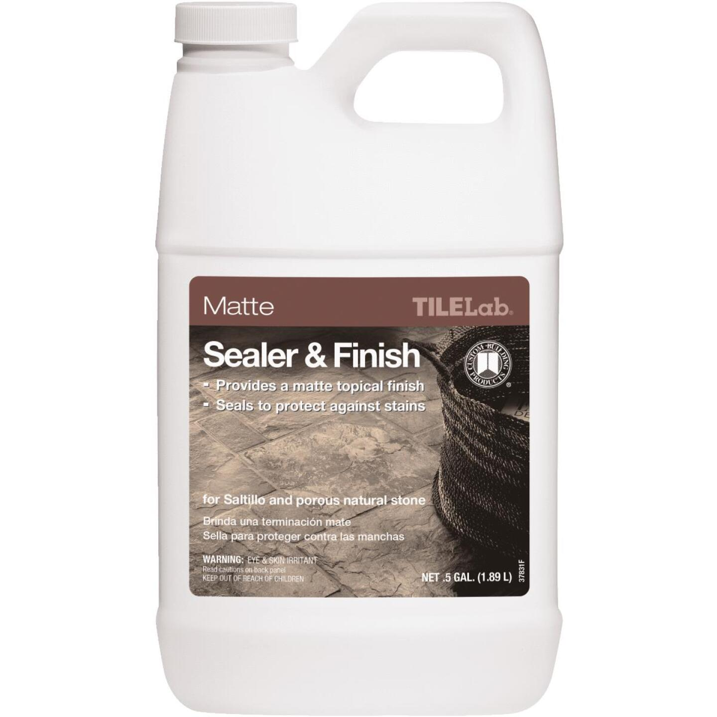 Custom Building Products TILELab 1/2 Gal. Matte Tile Sealer & Finish Image 1