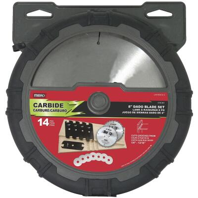 Mibro 8 In. Dado Circular Saw Blade Set