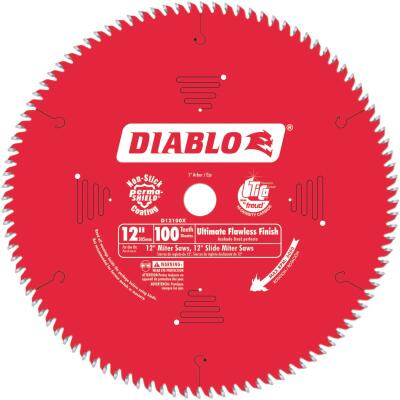 Diablo 12 In. 100-Tooth Flawless Finish Circular Saw Blade