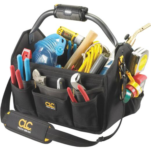 CLC Tech Gear 22-Pocket 15 In. Lighted Tool Tote