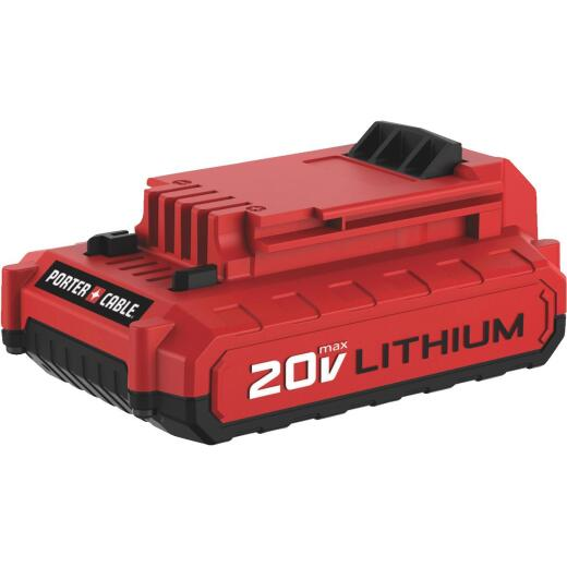 Porter Cable 20 Volt MAX Lithium-Ion 2.0 Ah Compact Tool Battery