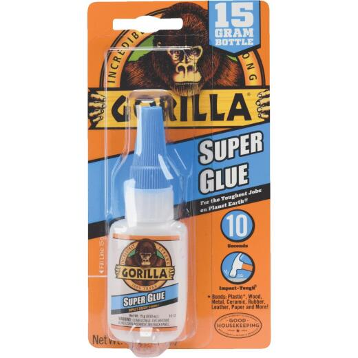 Gorilla 0.53 Oz. Liquid Super Glue