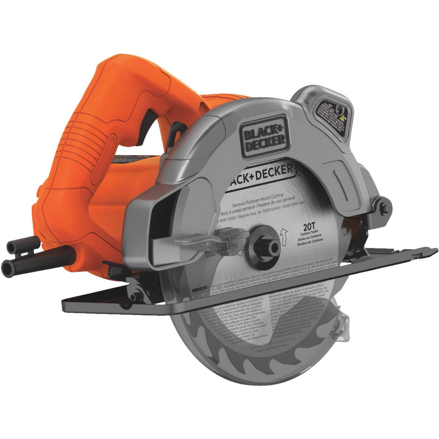 Black & Decker 7-1/4 In. 13-Amp Circular Saw with Laser Image 7
