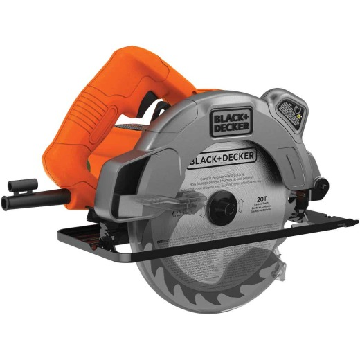 Black & Decker 7-1/4 In. 13-Amp Circular Saw with Laser