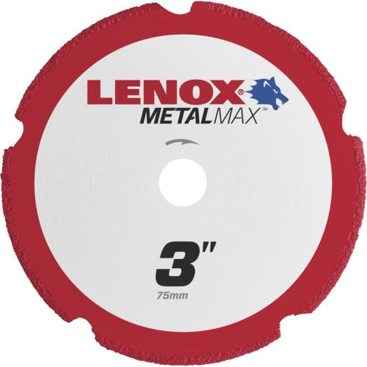 Lenox MetalMax 3 In. Segmented Rim Dry Cut Diamond Blade