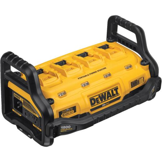 DeWalt Flexvolt 20 Volt Lithium-Ion Portable Power Source and Simultaneous Battery Charger