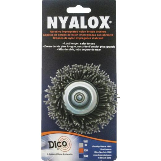 Dico Nylox 2-1/2 In. Extra Coarse Drill-Mounted Wire Brush