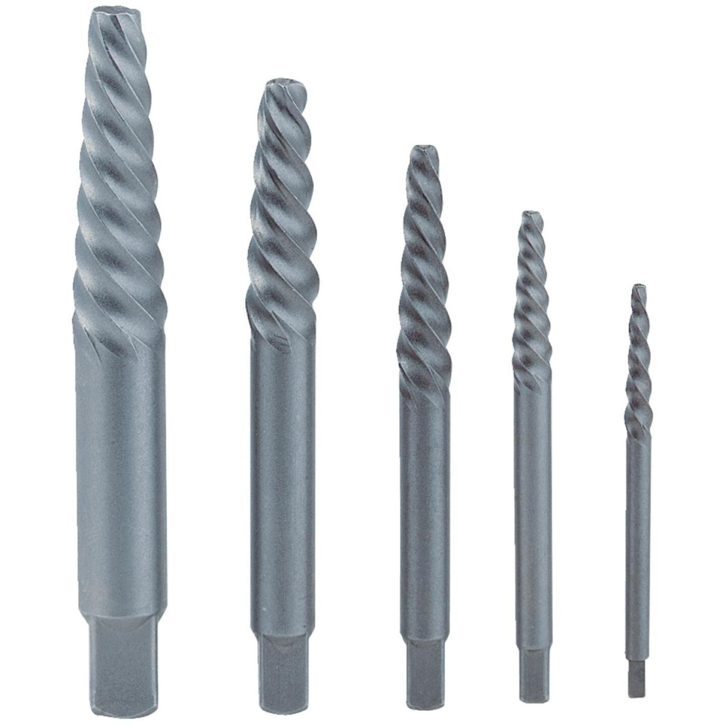 Irwin 5-Piece Screw Extractor Set Image 1