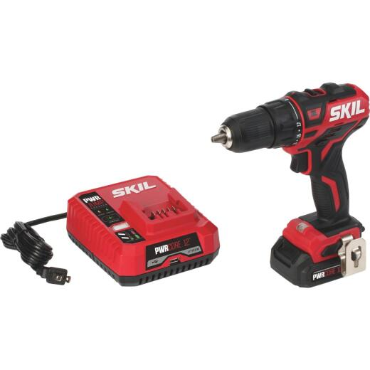 SKIL PWRCore 12 Volt Lithium-Ion Brushless 1/2 In. Cordless Drill/Driver Kit