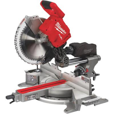 Milwaukee M18 FUEL 12 In. Brushless Dual Bevel Sliding Cordless Miter Saw (Bare Tool)