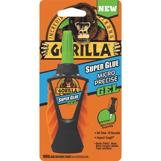 Gorilla 0.19 Oz. Gel Micro Precise Super Glue