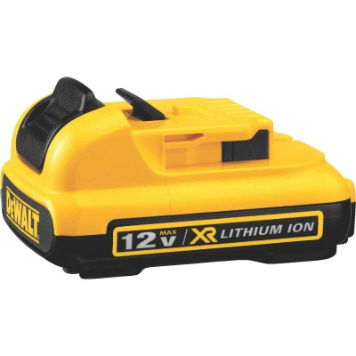 DeWalt 12 Volt MAX Lithium-Ion 3.0 Ah Tool Battery