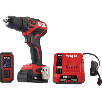 SKIL 2-Tool PWRCore 12 Volt Lithium-Ion Brushless Drill/Driver & Laser Measurer Cordless Tool Combo Kit