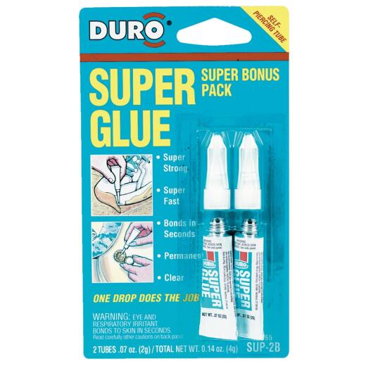 Duro 0.07 Oz. Liquid Super Glue (2-Pack)