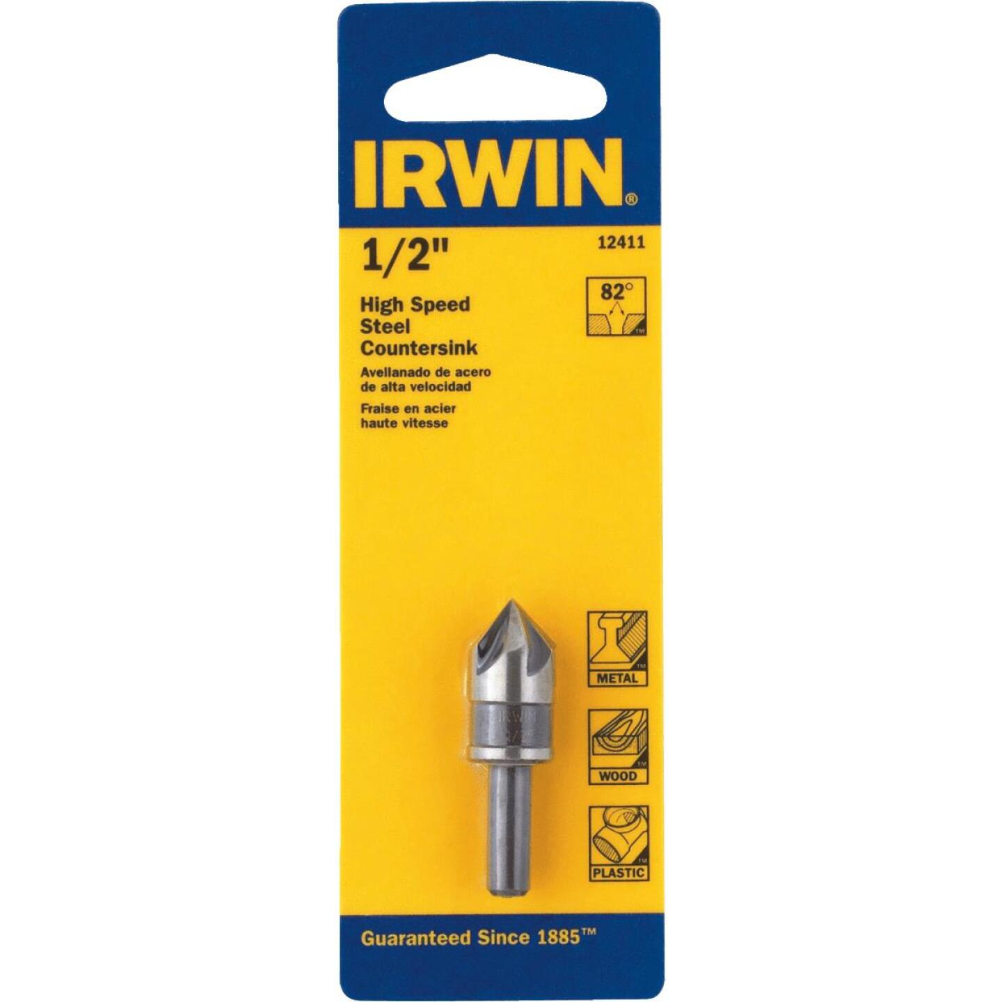 Irwin 1/2 In. Round Most Machineable Metals Countersink Image 2