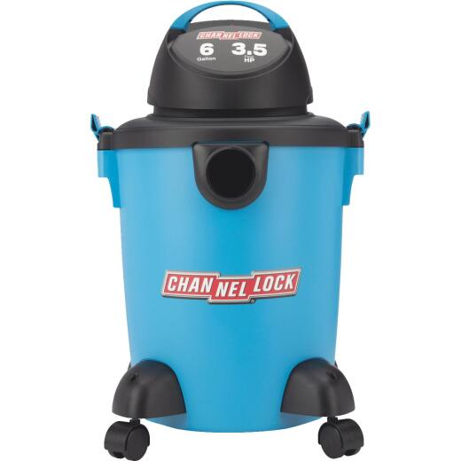 Channellock 6 Gal. 3.5-Peak HP Wet/Dry Vacuum