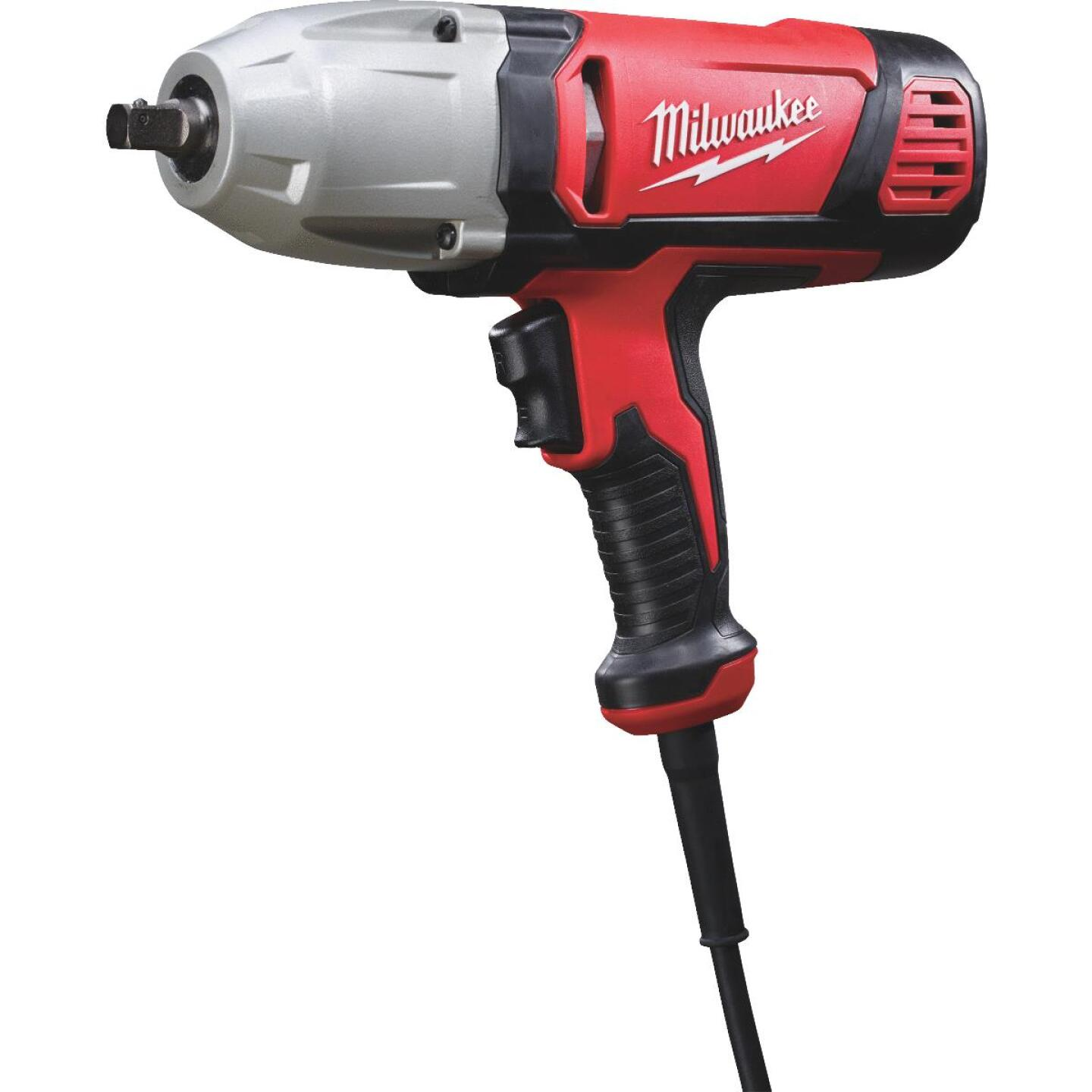 Milwaukee 1/2 In. Impact Wrench with Rocker Switch and Detent Pin Image 1