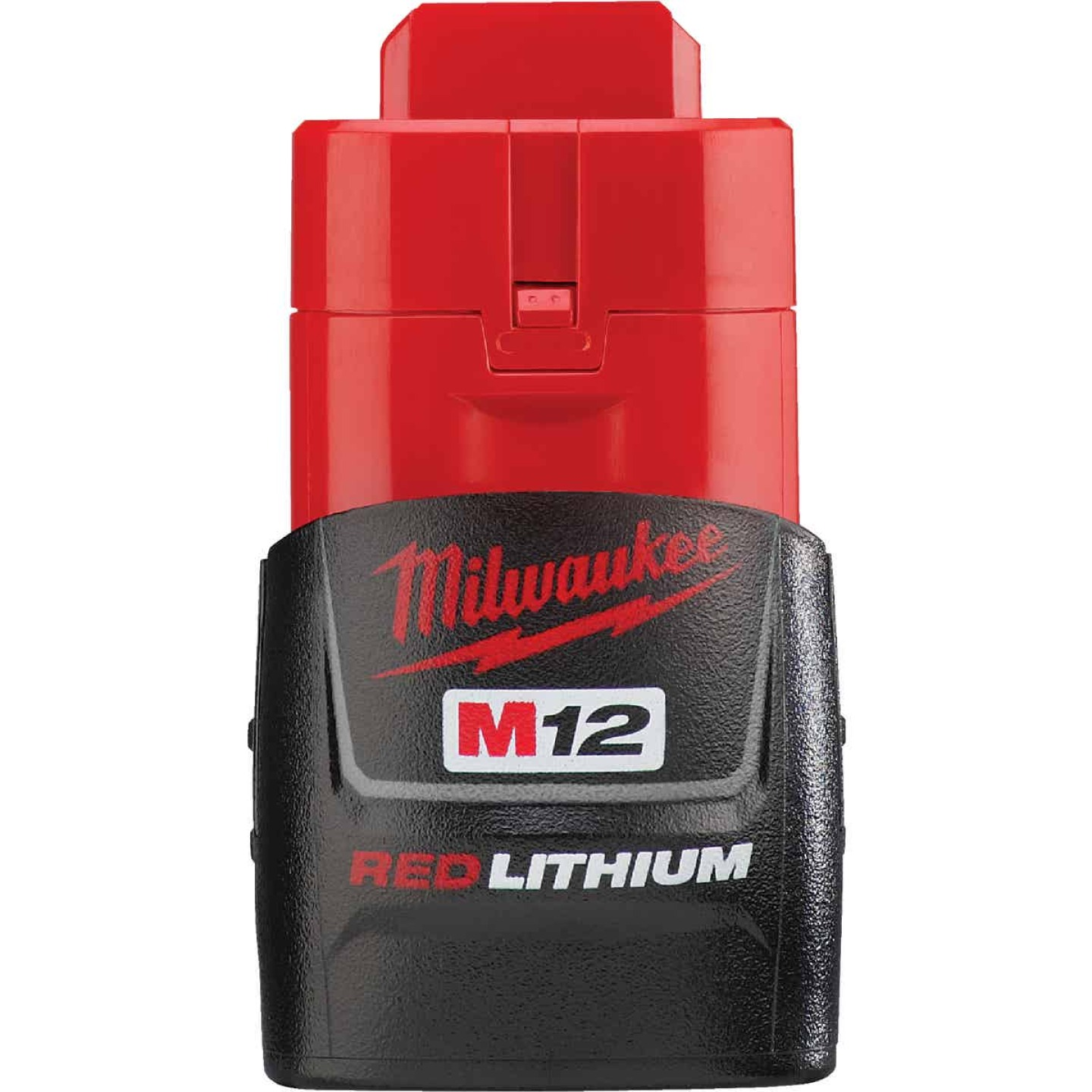 Milwaukee M12 REDLITHIUM 12 Volt Lithium-Ion 1.5 Ah Compact Tool Battery Image 1