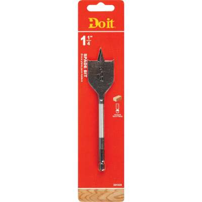 Do it 1-1/4 In. x 6-1/4 In. Spade Bit