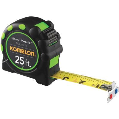 Komelon MagGrip 25 Ft. Tape Measure