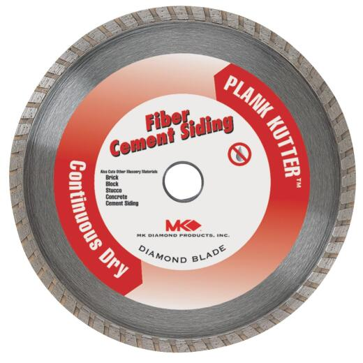 MK Diamond Plank Kutter 4-1/2 In. Turbo Rim Dry Cut Diamond Blade