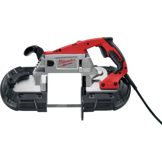 Milwaukee Deep 5 In. 11-Amp Deep Cut AC/DC Band Saw with Case