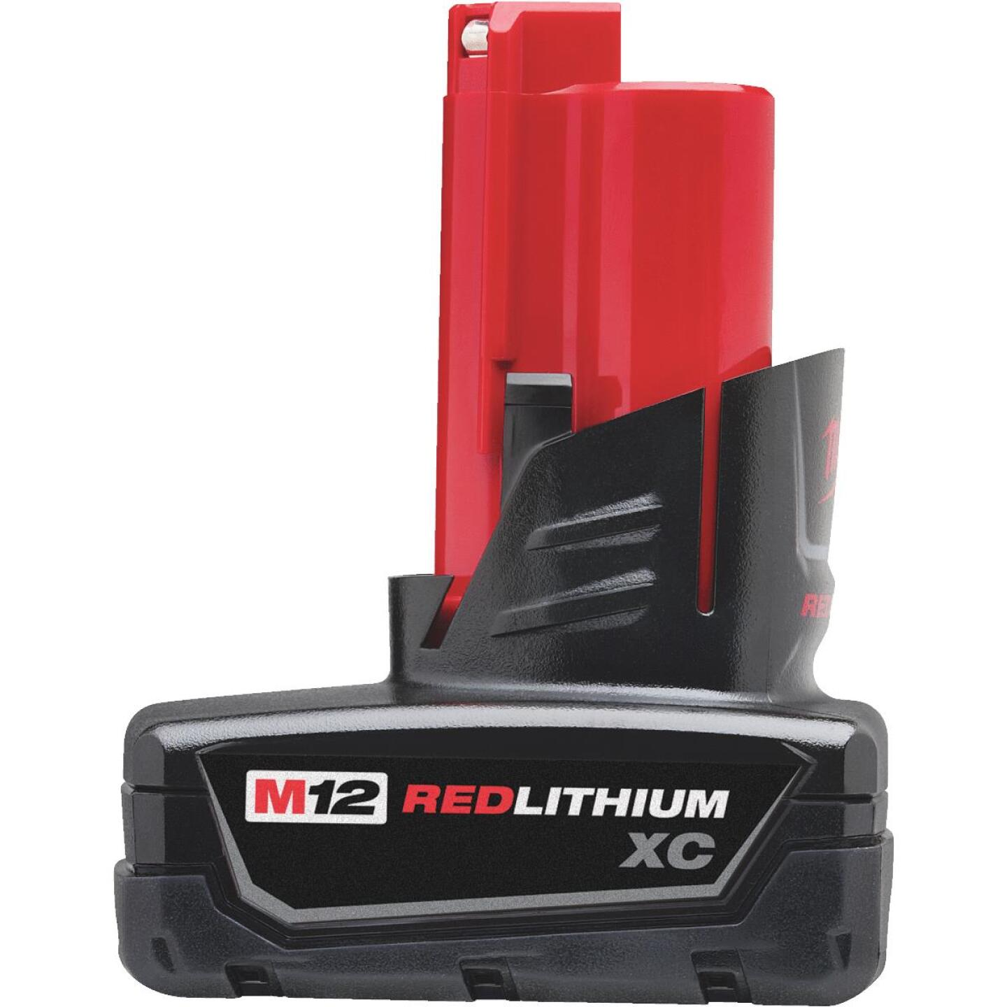 Milwaukee M12 REDLITHIUM XC 12 Volt Lithium-Ion 3.0 Ah Extended Capacity Tool Battery Image 1