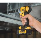 DeWalt 20 Volt MAX Lithium-Ion 1/4 In. Hex Cordless Impact Driver Kit Image 2