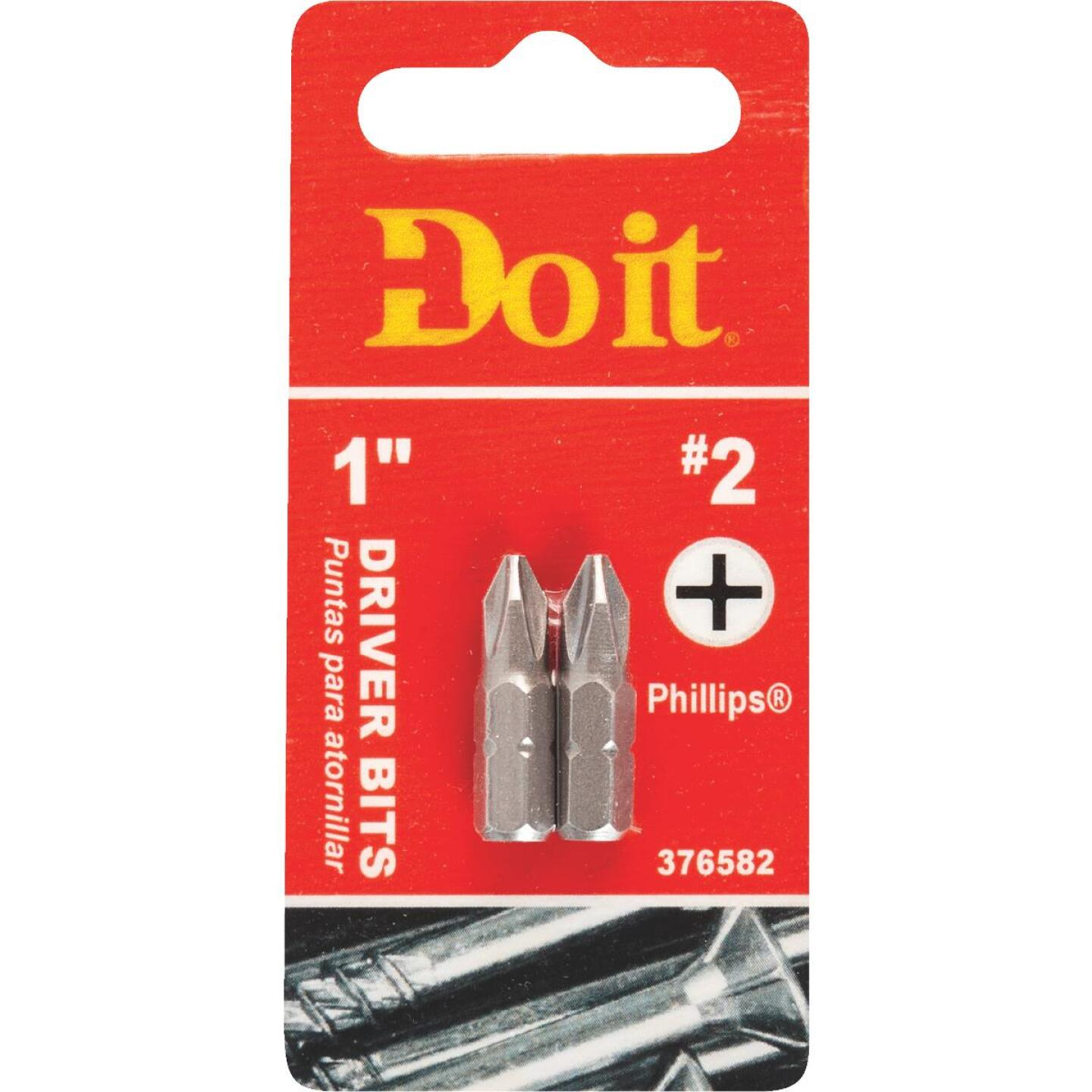Do it #2 Phillips 1 In. Insert Screwdriver Bit (2-Pack) Image 1