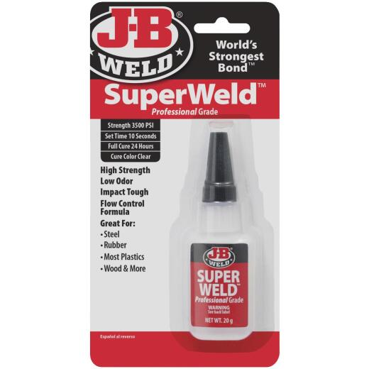 J-B Weld 0.71 Oz. SuperWeld Super Glue