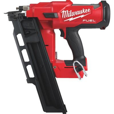 Milwaukee M18 FUEL 18 Volt Lithium-Ion Brushless 21 Degree Cordless Framing Nailer (Bare Tool)