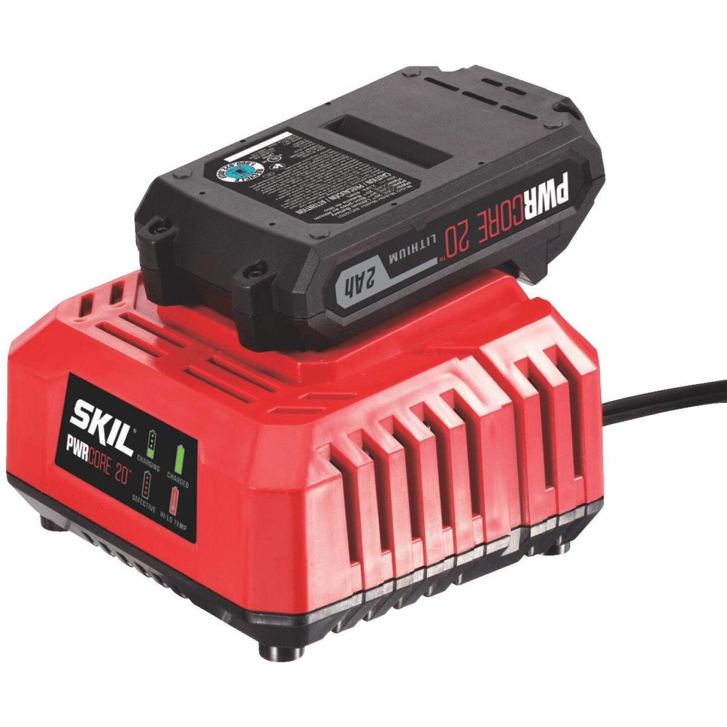 SKIL PWRCore 20 Volt Lithium-Ion Battery Charger Image 1