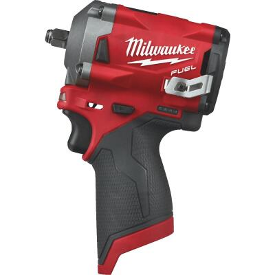 Milwaukee M12 FUEL 12 Volt Lithium-Ion Brushless 3/8 In. Stubby Cordless Impact Wrench (Bare Tool)