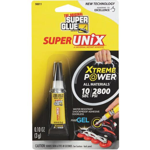 SuperUNiX 0.10 Oz. Super Glue Gel