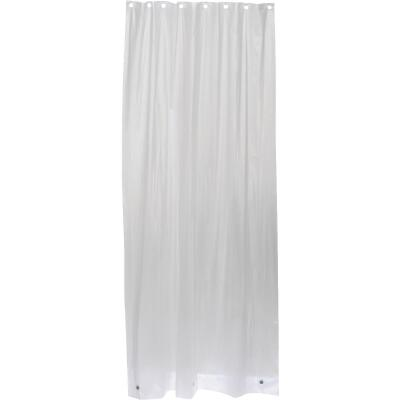Zenith 42 In. x 78 In. Frosted Shower Curtain