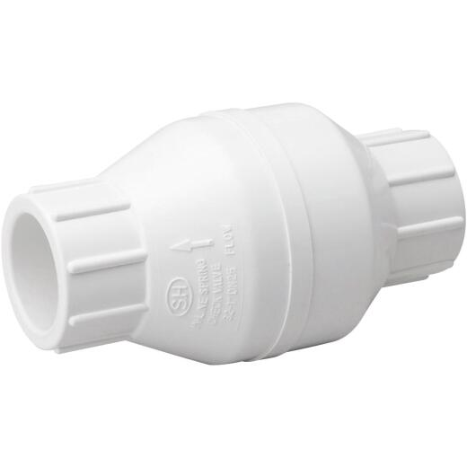 ProLine 1-1/4 In. PVC Schedule 40 Solvent Check Valve