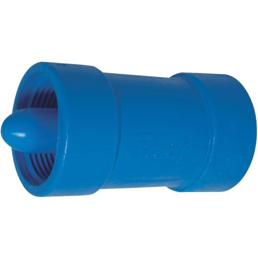 Campbell Brady 1-1/4 In. Acetal Polymer Spring Loaded Check Valve