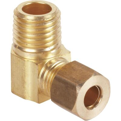 Do it 1/4 In. x 1/4 In. Male Low Lead Compression Brass Elbow
